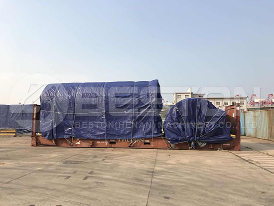 Tyre Recycling Equipment to South Africa