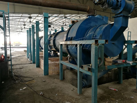 charcoal manufacturing plant