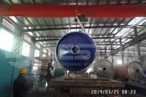 Tyre Pyrolysis Plant Cost
