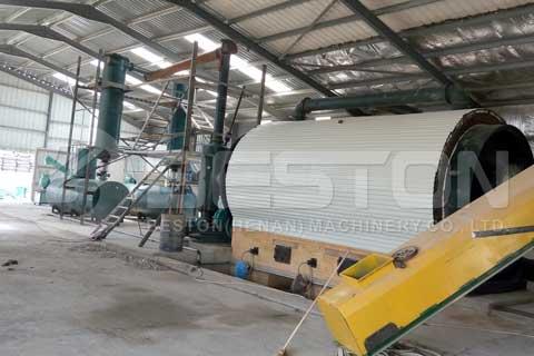 Tire Pyrolysis Plant Price