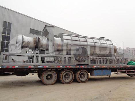 Wood Charcoal Manufacturing Machine To Ghana
